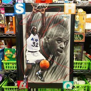 Veg '93 Shaquille O'Neal NBA Jam Session Poster